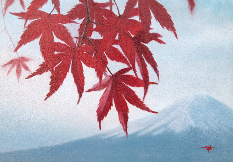 Autumn color-maple-