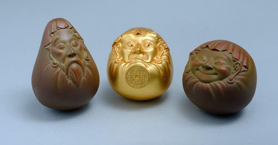 [Fukurokuju-Daruma]/The God of Wealth and Longevity Dharma