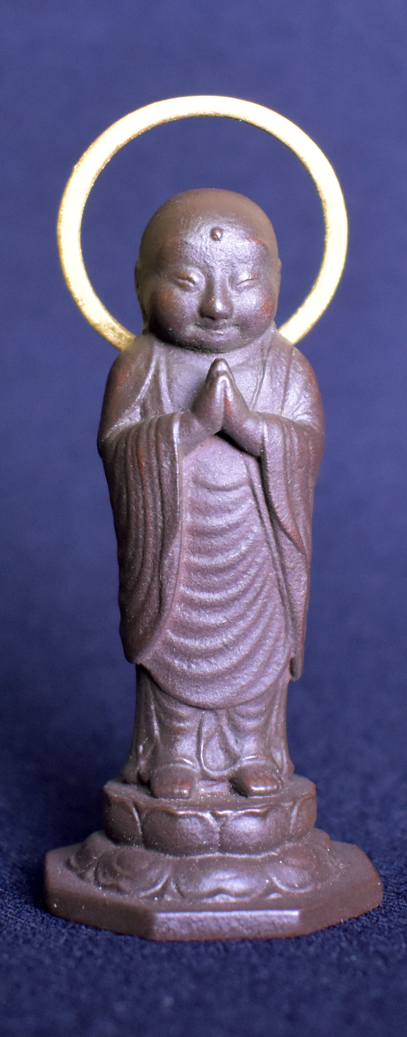[Waganse-gassho-jizo]/Joining hands guardian deity of child of Japanese face